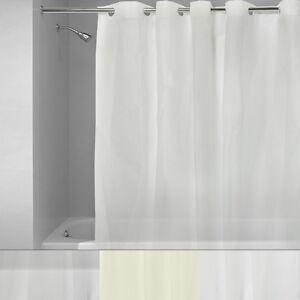Details About EZ On 100 EVA Plastic 72 X Hookless Shower Curtain Liner 3 Colors