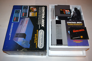 Nintendo-NES-Control-Deck-Super-Mario-Bros-1986-Console-System-Complete-in-Box