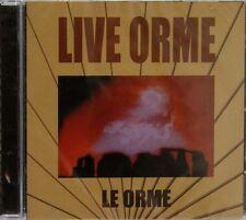 Le Orme-Live Orme Italian prog 2 cds