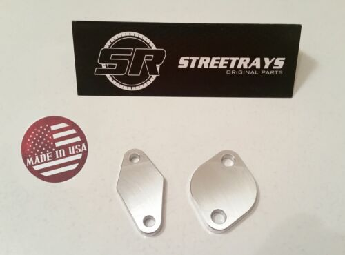Billet Air Pump Delete Kit Block Off Plates for WRX Legacy GT /& FXT STI SR