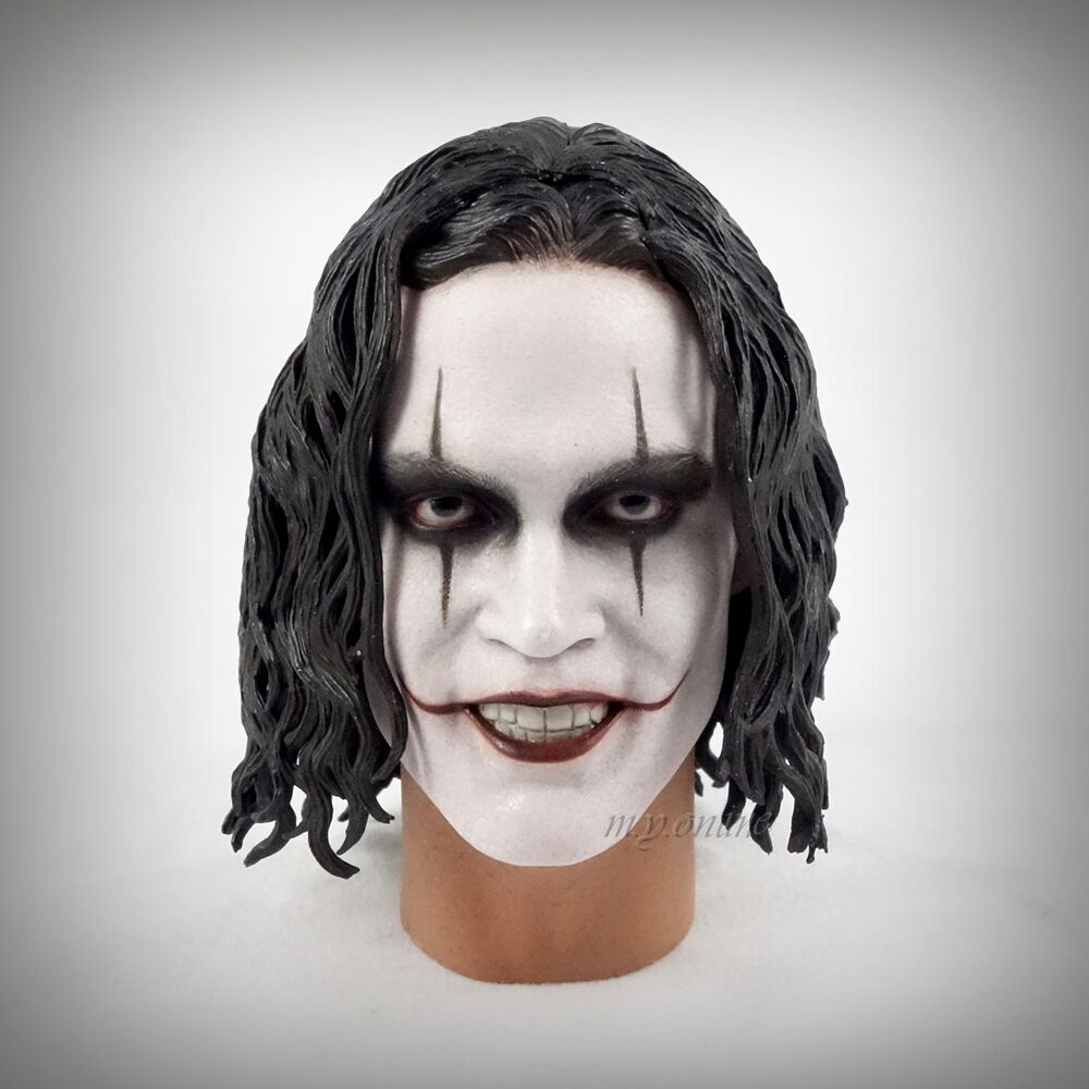 Hot Toys The Crow ERIC DRAVEN Figure 1/6 HEAD SCULPT