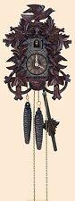 Deeply Carved Cuckoo Clock by Anton Schneider (30-Hour)