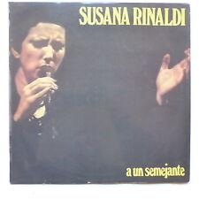 SUSANA RINALDI A un semejante 19004 ARGENTINE TANGO