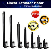 4 10 16 Inch Linear Actuator Stroke 900n 225 Lbs Pound Max Lift 12v Volt Dc