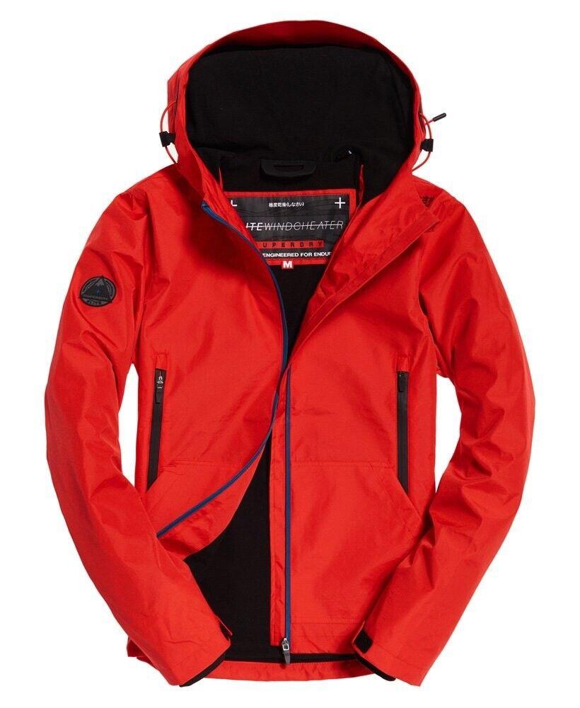 b7eb8665 NEW Superdry Mens Arctic Elite SD-Windcheater Red orange XL Extra Large