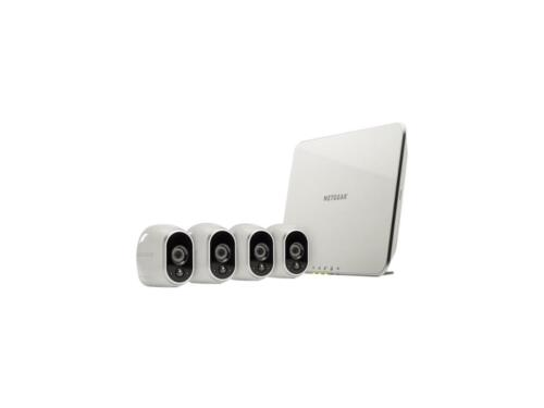 4 HD Wire-Free Cameras Arlo VMS3430-100NAR Security Camera System