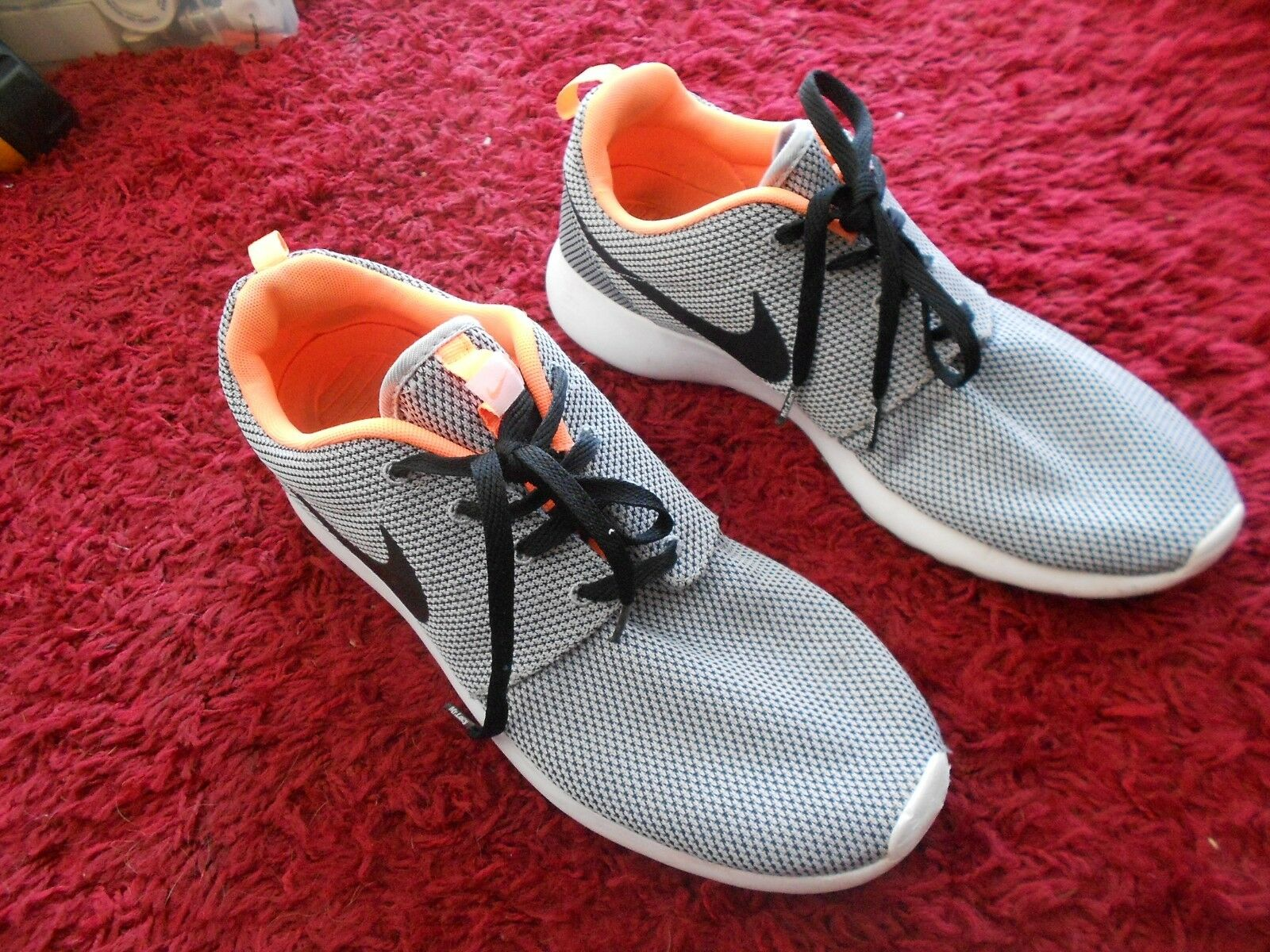 NIKE ROSHERUN TRAINERS UK SIZE 11 - IN QUITE GOOD CONDITION