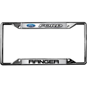 Ford Ranger Metal Zinc License Plate Frame Tag Holder Official Licensed