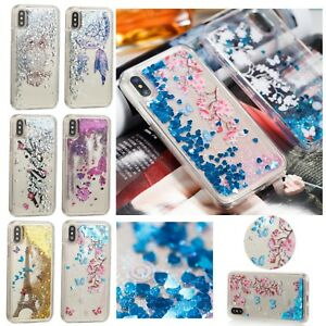 lowest price fc898 b9264 Details about Printed Moving Glitter Liquid Phone Case Cover iPhone 6 7 8  Plus iPod Touch 5/6