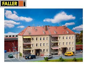Faller-H0-191755-Wohnblock-NEU-OVP