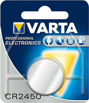 10x Varta Cr2450 1er Blister 3v Batterie Lithium Knopfzelle 560 Mah Vcr2450 Exquisite Traditionelle Stickkunst