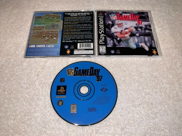NFL GameDay '97 (Sony PlayStation 1, 1996) PS1 Greatest Hits Complete LN Mint!