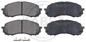 Scheibenbremse A.B.S 37443 vorne für SUBARU Bremsbelagsatz