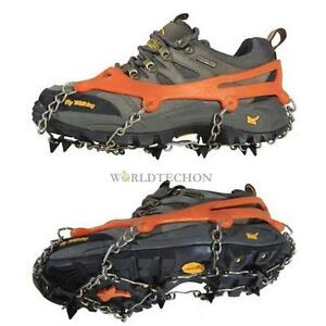 Spike-Grip-Boots-Chain-Crampons-Grippers-Point-Ice-Shoes-Anti-Slip-Snow-Walker
