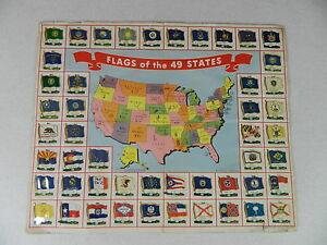 Details about COMPLETE SET of 49 NABISCO FLAGS AND U.S. MAP on map of italy flag, map russia flag, map of halloween, map of pear, us map states flag, map of canada flag, map of europe flag, map of navy, map of air force, map of california flag, map france flag, map of constitution, map of america flag, map of abraham lincoln, map of germany flag, map of africa flag, south america flag, map of puerto rico flag, map of mexico flag, map of uk flag,