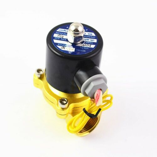 """2W-200-20 DC24V 2 Way 2 Position Pneumatic 3//4/"""" Water Solenoid Valves NC DN20"""