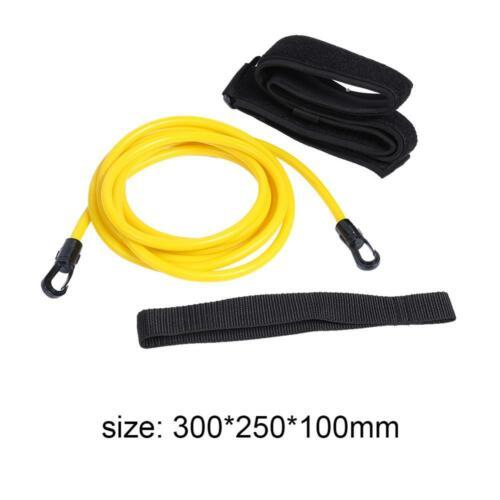 2//3//4M Harness Swim Training Resistance Belt Safety Rope Swimming Pool Tool