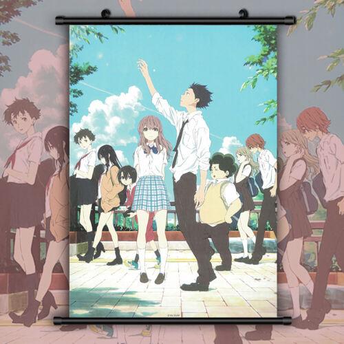 Koe no Katachi A silent voice Ishida Shoya Anime Wall Poster Scroll Room Decor