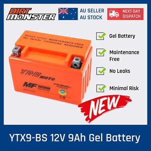 GEL YTX9-BS 12V 9Ah Battery Honda ATV TRX 125//250//300//400//700 FourTrax Sportrax