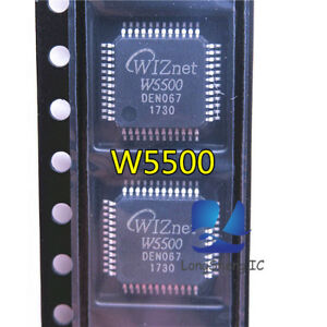 5PCS-Nouveau-W5500-LQFP-48-Network-Hardware-Chip