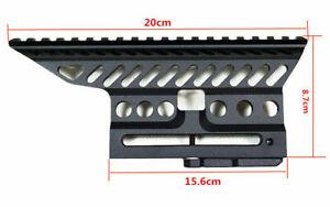 Aluminium-Russian-B-13-Rifle-Scope-Side-Rail-Mount-CNC-20mm-Weaver-QD-Locker