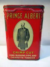 """Ancienne boite publicitaire en métal """"Prince Albert"""" cigarette tobacco tabac"""