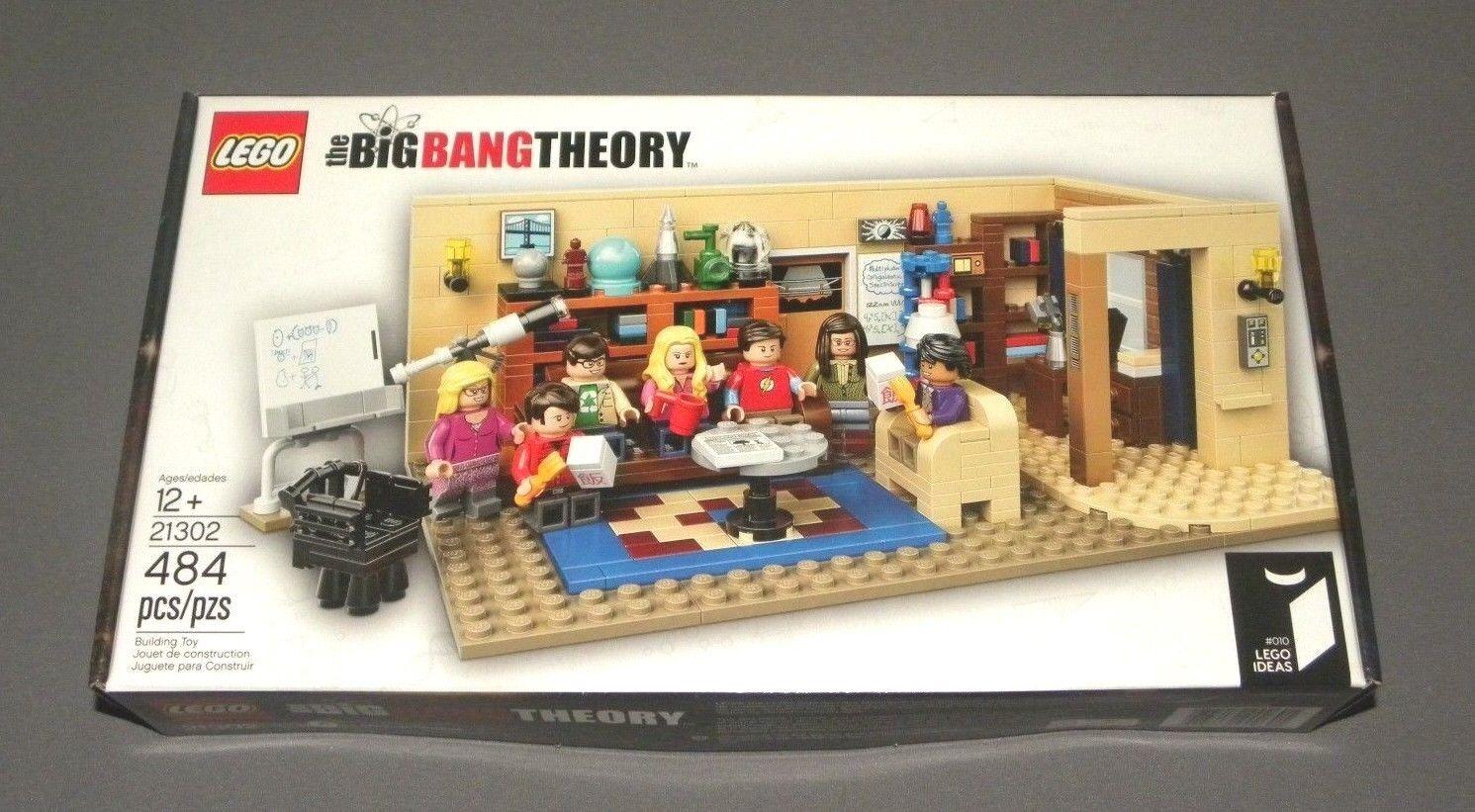 LEGO The Big Bang Theory Set 21302  010 LEGO Ideas w Sheldon, 7 Minifigures