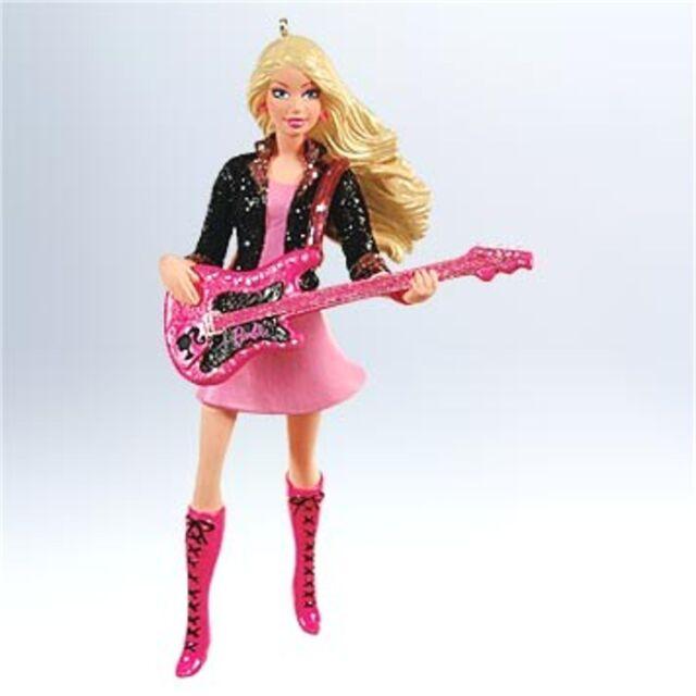 Hallmark 2011 Rockin' Barbie Guitar Ornament