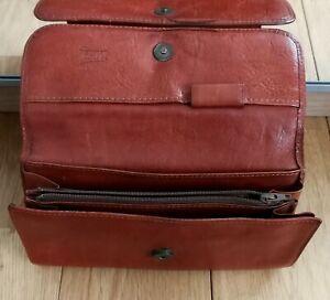 Portefeuille-TEXIER-en-cuir-Vintage-bag-annee-60-70