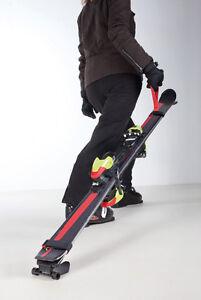 Skizieh - Transporthilfe für Alpin Ski aller Art bis 8mm Skistärke