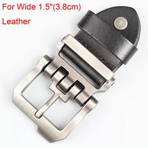 Designer-Belt-Alloy-Men-039-s-Belt-Buckle-Pin-Buckle-for-Wide-1-5-034-3-8cm-Leather