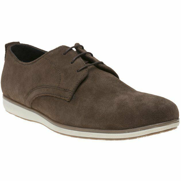 Neu HERREN RED TAPE BRAUN CHURTON WILDLEDER SCHUHE