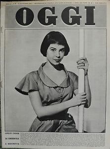 OGGI-N-39-24-SET-1953-LESLIE-CARON-DA-CENERENTOLA-A-REGINETTA