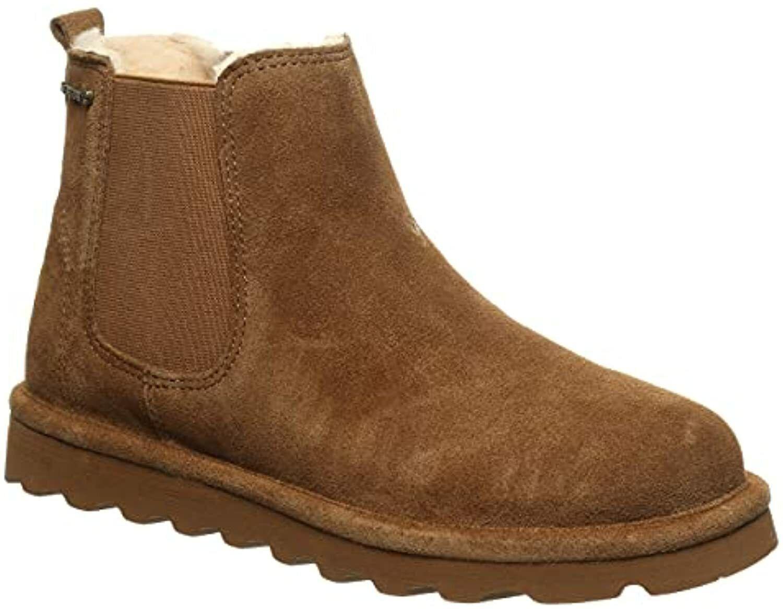 Bearpaw Drew Women's Leather Boots - 2779w Hickory - 7 Medium