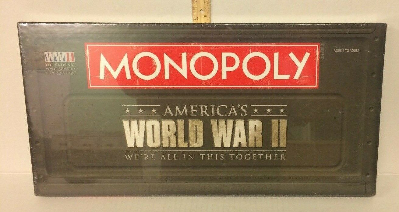 Monopoly World War II Board Game We Are All In This Together