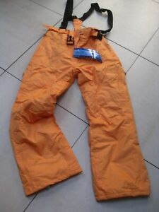 BNWT-Mens-TRESPASS-Salopettes-SKI-PANTS-orange-melon-XL-W42-L33-mullerplus