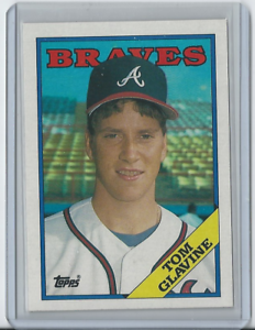 1988-Topps-779-Tom-Glavine-Atlanta-Braves-HOF-Rookie
