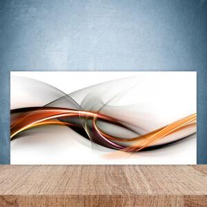 Küchenrückwand aus Glas 100x50cm ESG Spritzschutz Abstrakt Kunst | eBay