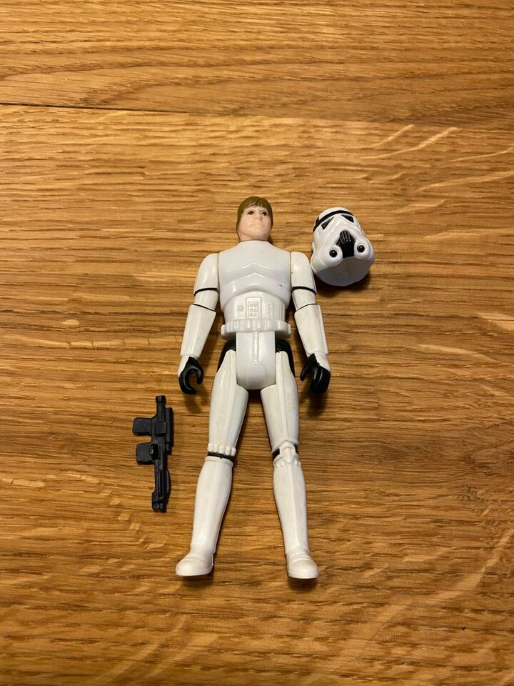 Star wars Luke storm Trooper, Kenner