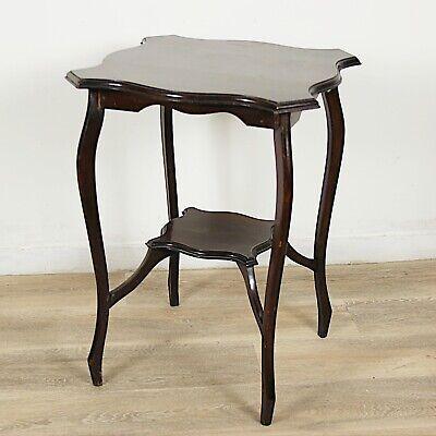Tavolino tavolo antico da salotto soggiorno in legno due ...