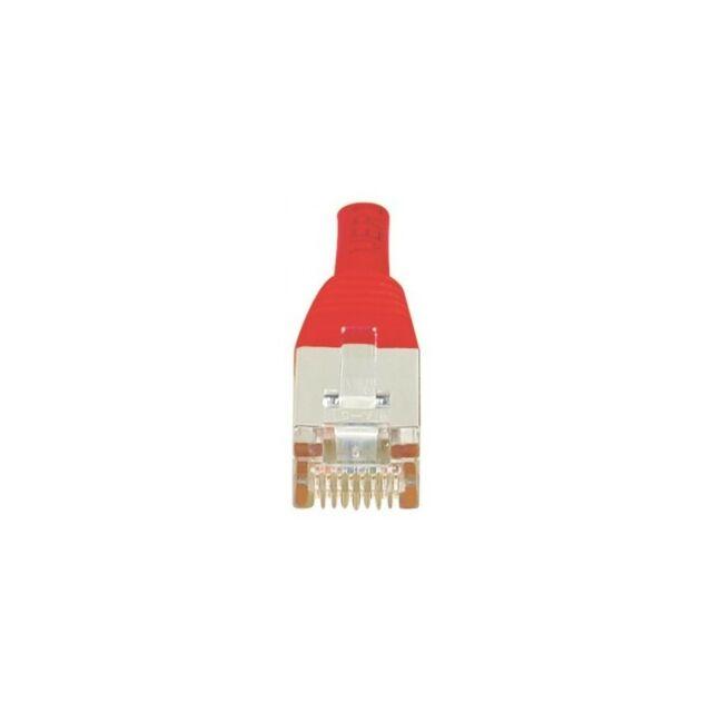 Générique Cordon RJ45 patch F/UTP CAT 6 Rouge - 2,00 m