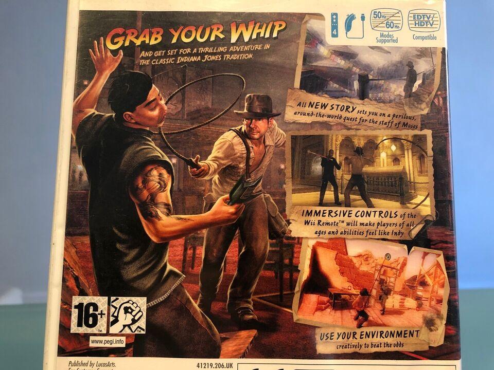 Indiana Jones - and the staff of kings , Nintendo Wii,