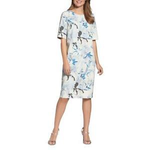 Basler-Womens-Adventure-Time-Printed-Wear-to-Work-Dress-Plus-BHFO-3570