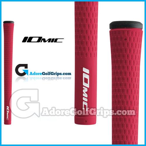 Iomic Sticky 2.3 medianas Grips-Rojo   Negro X 9