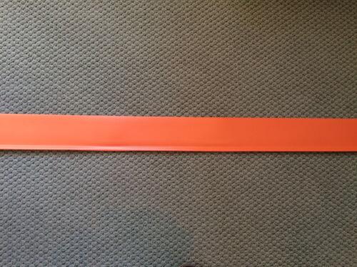"""Johnsonite vinyl 4/"""" wall base Carrot CB140 4/' lengths,120  lineal ft per box"""