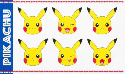 Pokemon Fabric 100/% Cotton Pikachu Panel