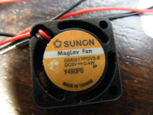 1pc 100/% NEW SUNON GM0157PDV3-8 5V 0.4W 17mm x17x8mm 1708 MagLev Fan MINI DC fan