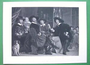 ARCHERY-Contest-at-Antwerp-Awarding-Prizes-Victorian-Era-Antique-Print