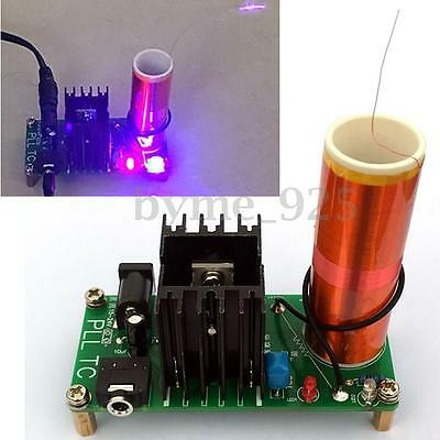 DIY 15W Mini Tesla Coil Plasma Speaker Set Electronic Field Music Project Parts