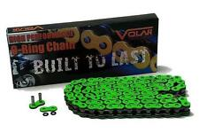 Kawasaki ZX14 Green Motorcycle Chain 530 x 150 Link O-Ring for Extended Swingarm